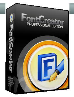 FontCreator Professional 2019 Free Download