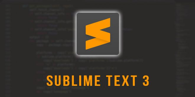 Sublime Text Free Download 2019