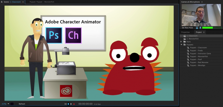 Download Adobe Character Animator CC 2019 For PC