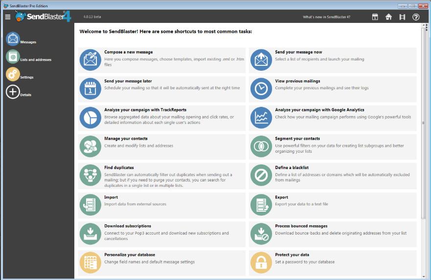 SendBlaster Pro v4.3.3 Download Free