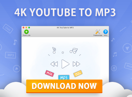 4k YouTube to MP3 for Mac Free Download