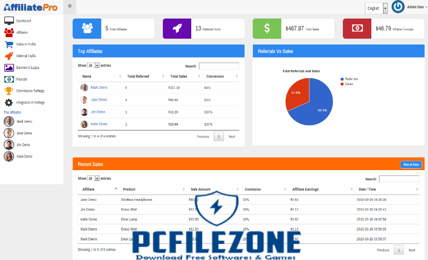 Affiliate Network Pro 9.1 Free Download