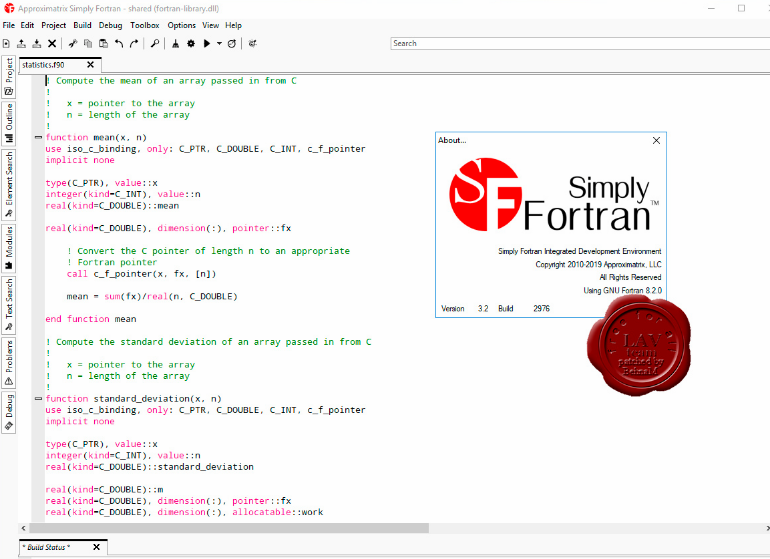 Approximatrix Simply Fortran for PC/Laptop Free Download