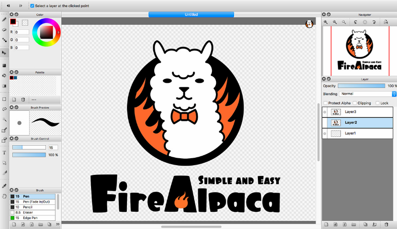 FireAlpaca 2019 Free Download (64-bit)