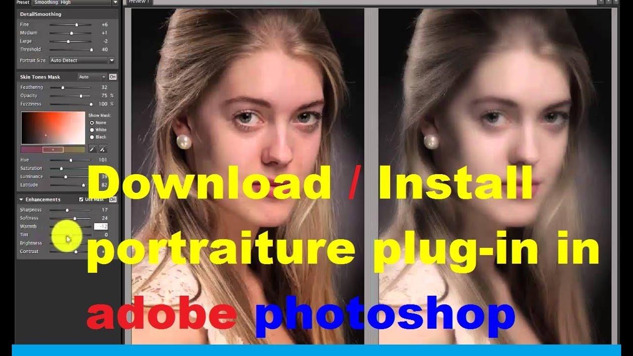 Imagenomic Portraiture Plugin for Photoshop Free Download