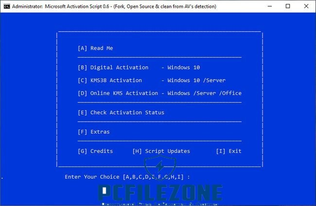 Microsoft Activation Script 1.0 Latest Stable Version Free Download