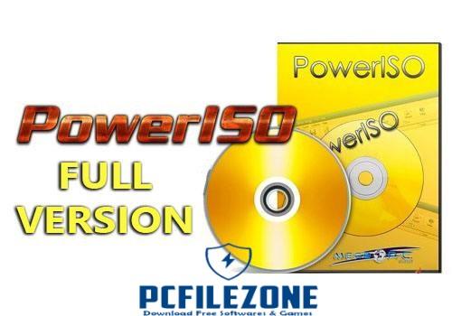 PowerISO 7.5 + Portable Full Version Free Download