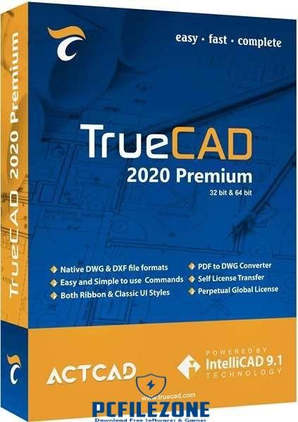 TrueCAD Premium 9.1.438.0 | 2020 Free Download