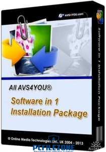 AVS4YOU AIO Software Package 4.3.1.156 Latest Free Download