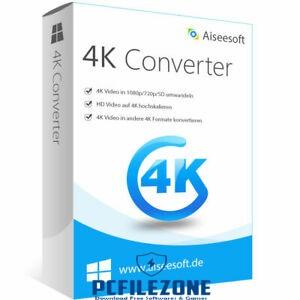 Aiseesoft 4K Converter 9.2.22 Free Download + Portable