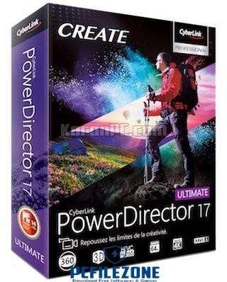 CyberLink PowerDirector Ultimate 17 Latest Free Download