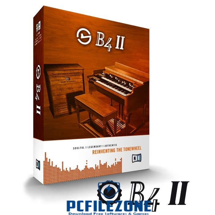 Native Instruments( B4-II VST ) 2019 Free Download For PC