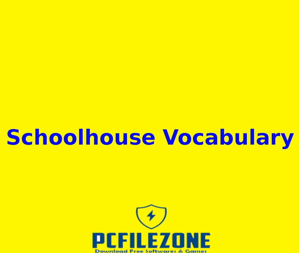 Schoolhouse Vocabulary Free Download