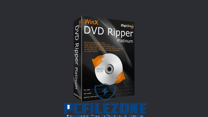 WinX DVD Ripper Platinum 8.20.0.237 Free Download For PC
