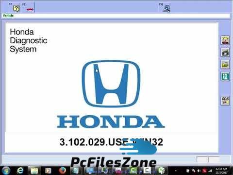 Honda Diagnostic System 2019 Free Download