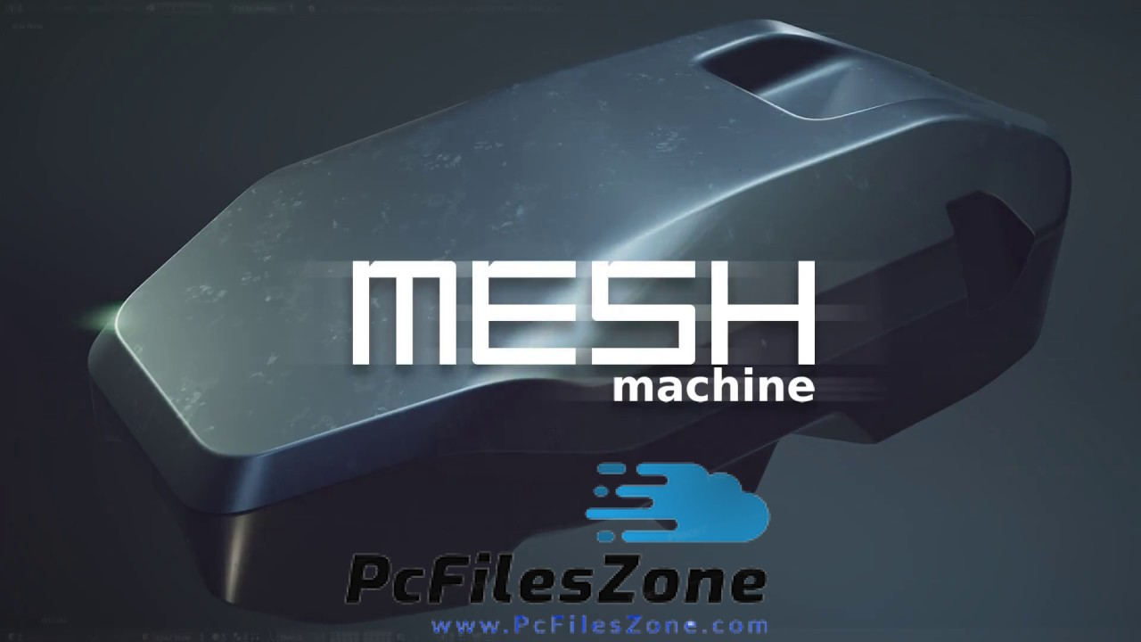Free Download For PC MESHmachine 2019 For Blender