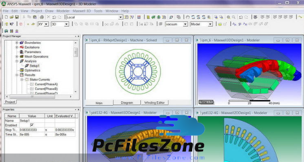 ANSYS Maxwell 2019