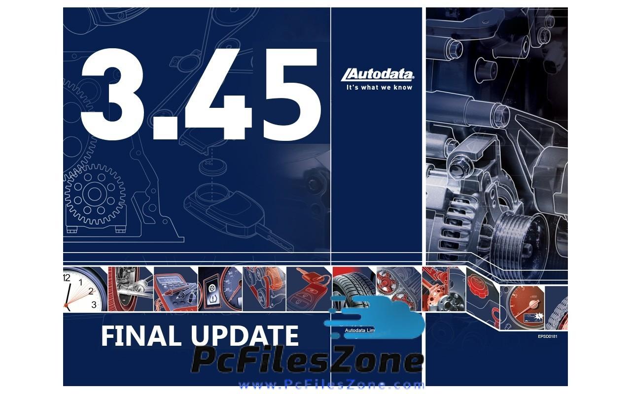 AUTODATA 3.45 Latest Free Download