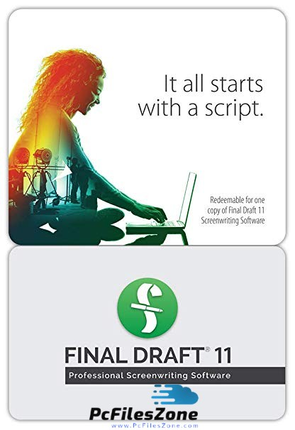 Final Draft 2019 v11  For PC Free Download