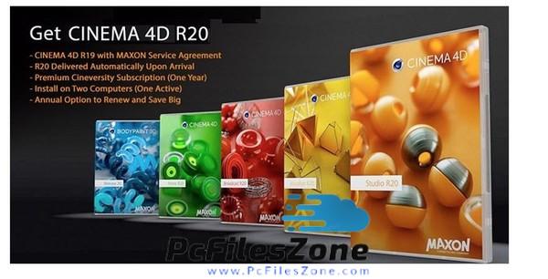 Maxon Cinema 4D Studio R20 Latest Free Download