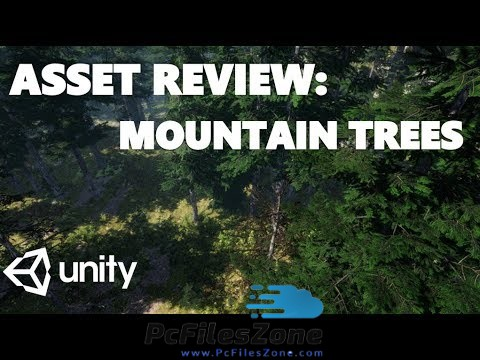 Free Mountain Trees – Dynamic Nature Asset for Unity 2019