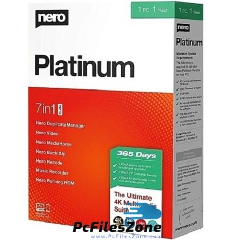 Nero Platinum 2020 Suite Free Download