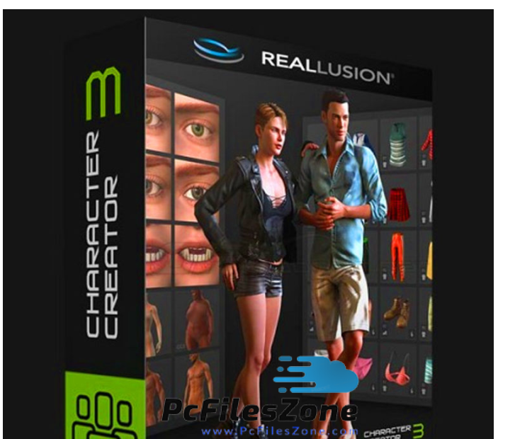 Reallusion Character Creator 3 + Resource Pack – Templates Download