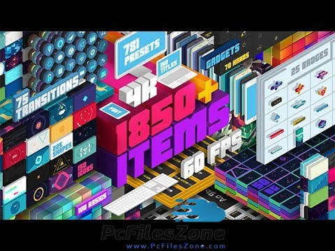 VideoHive – Big Pack of Elements 2019 Free Download