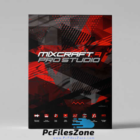 Acoustica Mixcraft Pro Studio 9.0 For PC Free Download