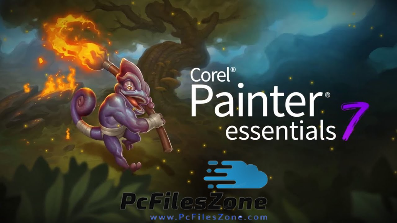 Corel Painter Essentials 7 For PC With Serial Key Free Download