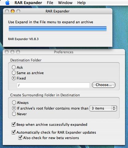 RAR Expander for Mac