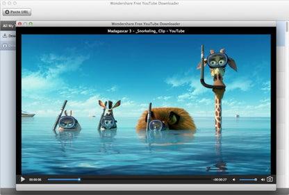 Wondershare Free YouTube Downloader for Mac