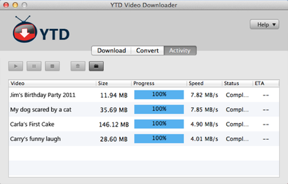 YTD Video Downloader for Mac
