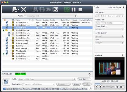 4Media Video Converter Ultimate for Mac for Mac