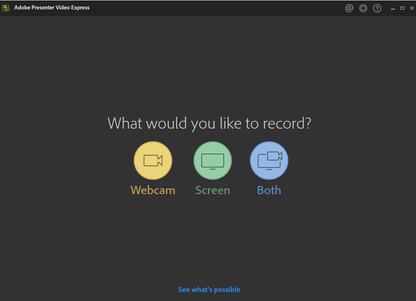 Adobe Presenter Video Express for Mac