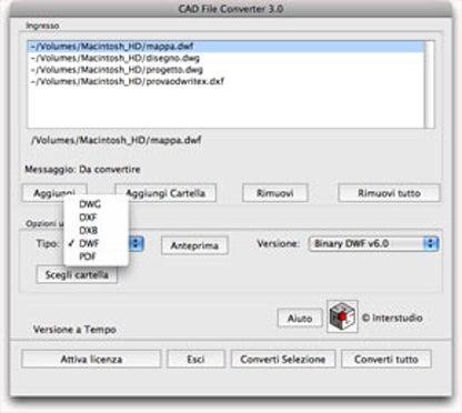 CAD File Converter M for Mac