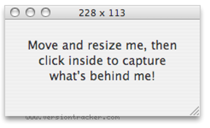 Capture Me for Mac