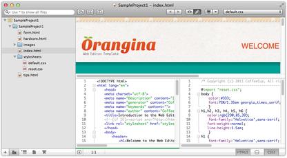 CoffeeCup Web Editor for Mac