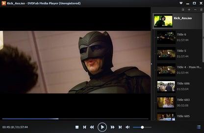 DVDFab Media Player (Free)