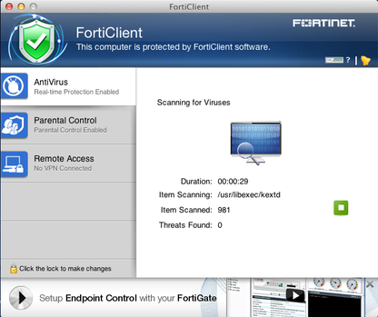 FortiClient for Mac
