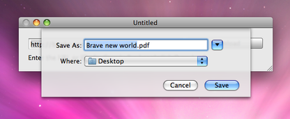 Google Book Downloader for Mac