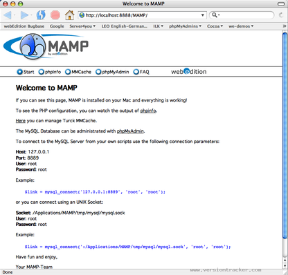MAMP for Mac