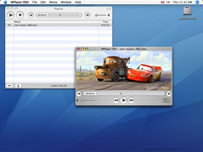 MPlayer for Mac