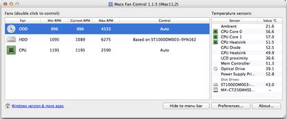Macs Fan Control for Mac