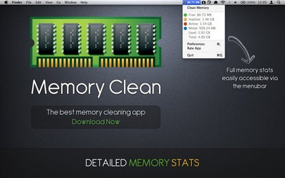 Memory Clean for Mac
