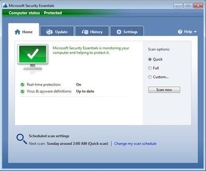 Microsoft Security Essentials (64-bit)