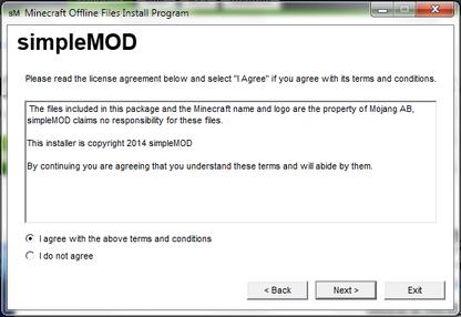 Minecraft Offline Files Installer