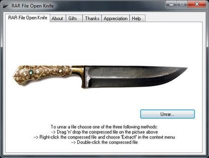 RAR File Open Knife – Free Opener
