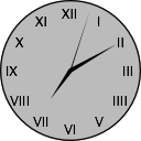 Simple Floating Clock for Mac