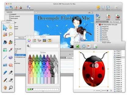 Sothink SWF Decompiler for Mac for Mac
